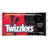 Twizzlers Black Licorice Twists, 16-Ounce