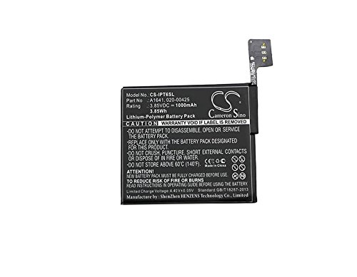Cameron Sino Replacement Battery Fit for Apple A1574, iPod 7.1, iPod Touch 6th, iPod Touch 6th Generation (1000mAh)