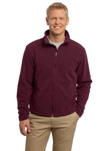 Port Authority Men's Value Fleece Jacket L Maroon (Maroon Coat)