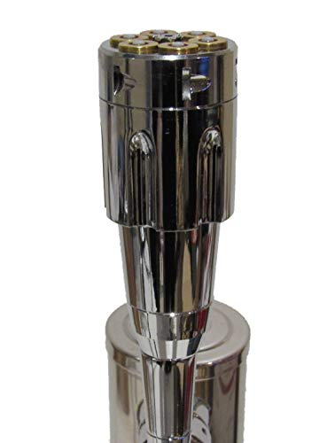 Kool Collectibles .44 Mag Revolver Beer Tap Handle Sports Bar Kegerator Breweriana Gun 6 Shooter