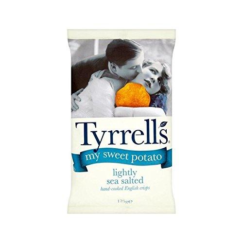 Tyrrells My Sweet Potato Lightly Salted 125g - Pack of 4