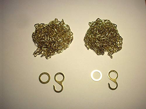 Cuckoo Clock Chains for 2 Weight 8 Day Regula 34 Movement -