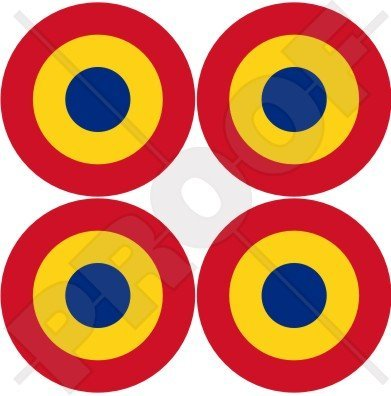 ROMANIA Romanian AirForce Aircraft Roundels 2