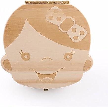 Caja de Dientes, Caja para guardar dientes para niños y niñas ...