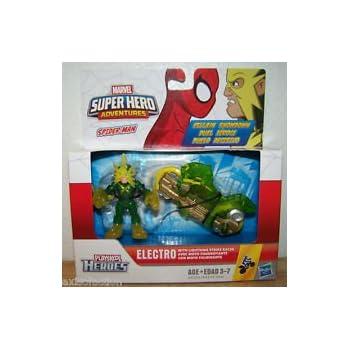 Playskool Marvel Super héroe aventuras tiburón bote con Hulk Figura