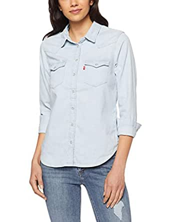 Levi's Women's Ultimate Western, Radio Starr (1), L - Blue