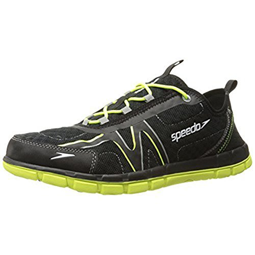 Speedo Upswell Shoes (8, Black/Chartreuse)