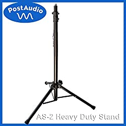 Post Audio Heavy Duty Mic Stand Great for Reflection Filters, Speakers, Lighting