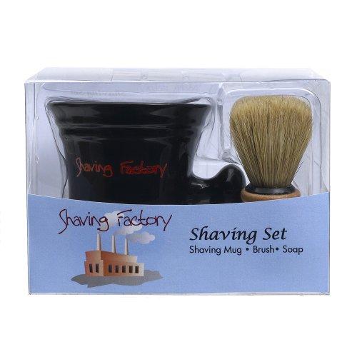 Price comparison product image Shaving Factory Shaving Mug Set,  16 Ounce