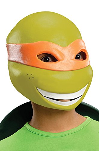 Kids Michelangelo Mask Costumes (Teenage Mutant Ninja Turtles Michelangelo 3/4)