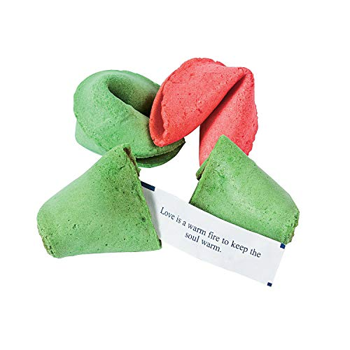 (Fun Express - Christmas Fortune Cookies for Christmas - Edibles - Snacks & Baking - Cookies & Fruit - Christmas - 50)