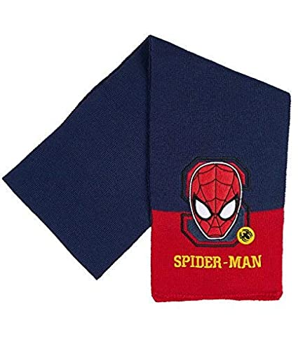 Hat and Gloves Spider-Man Boys 3 pieces set Scarf navy blue