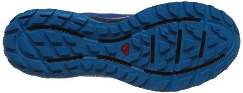 Salomon Mannen Voelen Ontsnapping Trail Loopschoenen, Grijs Blauw - Donker Blauw - Zwart