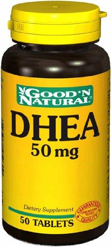 DHEA 50 mg, 50 comprimés, Good 'N naturelles
