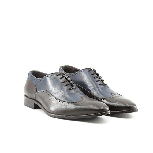 Made In Italia Hombre TIBERIO Oxford Zapatos Cordones Cuero