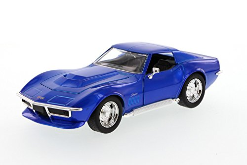 (Jada 1969 Chevy Corvette Stingray ZL-1, Blue Toys Bigtime Muscle 96887 - 1/24 scale Diecast Model Toy Car, but NO)