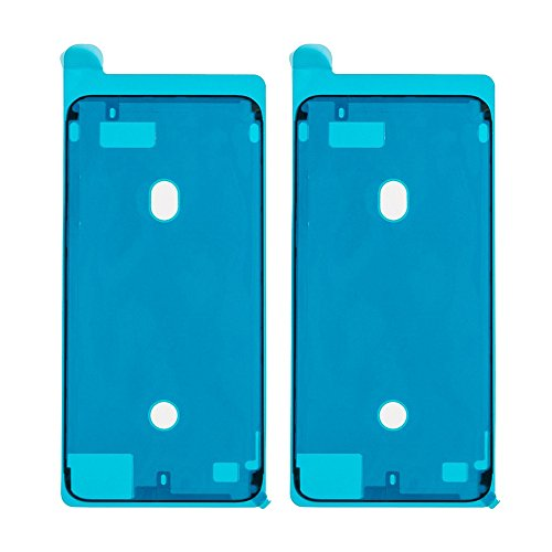 Afeax OEM Screen Adhesive Tape Strips LCD Display Adhesive Replacement for iPhone 7 Plus Black, Front Housing Frame Waterproof Stickers