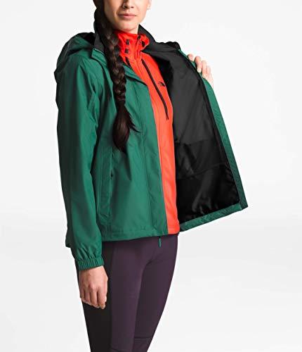 3031555d3 The North Face Women's Resolve 2 Jacket Botanical Garden Green/TNF Black  Medium