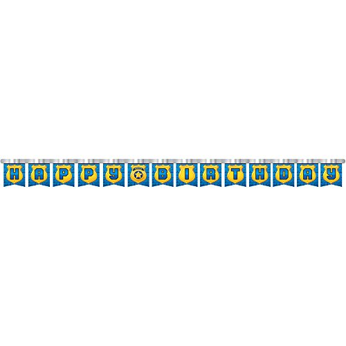 Creative Converting Police Party Jointed Banner (Jointed Banner Each Measures)
