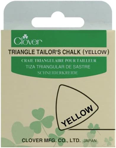 Clover Triangle Tailors Chalk Color Yellow Part No 432 Y