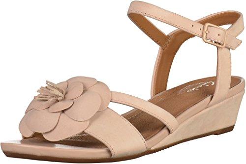 Clarks Parram Stella Para Mujer Sandalias De Cuña Muy Dusty Pink