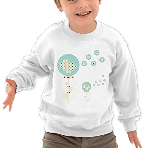 Price comparison product image Channey Dandelion Flower With Seeds Todller Kids Unisex Shirts 2-6 Years Old