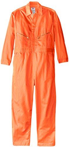 Walls Men's Work 100% Cotton Coveralls Orange Tall 48 ()