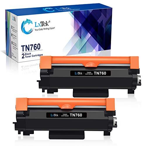 LxTek Compatible Toner Cartridge Replacement for Brother TN760 TN 760 TN730 to use with HL-L2350DW DCP-L2550DW MFC-L2710DW HL-L2395DW MFC-L2750DW HL-L2370DW HL-L2390DW Printer (Black, - Cartridges 28 Compatible Ink