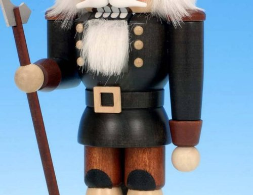 German Christmas Nutcracker Miner natural colors - 25,5cm / 10 inch - Christian Ulbricht by Authentic German Erzgebirge Handcraft