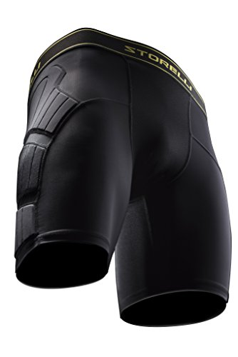 Storelli Sports Youth BodyShield Sliding Shorts, Medium