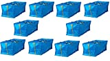 IKEA 10 X Large Blue Frakta Trunk for Trolley