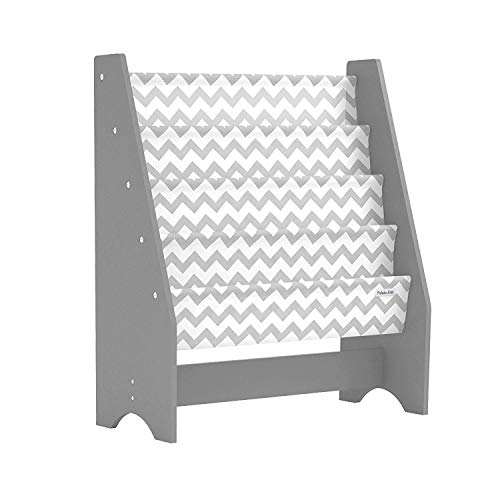 Pidoko Kids Bookshelf Grey