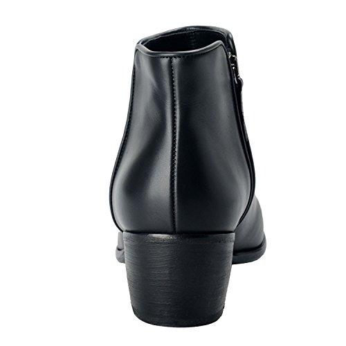 Giuseppe Zanotti Homme Mens Svart Läder Boots Skor Oss 9 Den 42