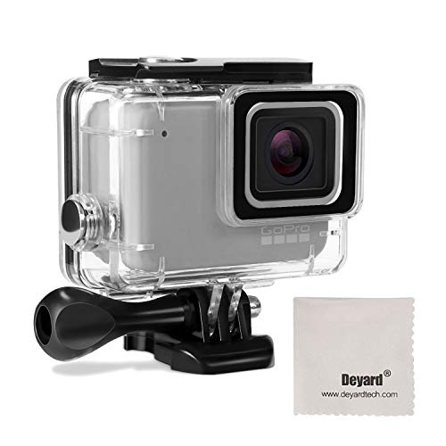 (ディヤード)Deyard 防水ハウジングケース 45mまで使用可能 水中撮影 GoPro Hero 7 Silver/White対応