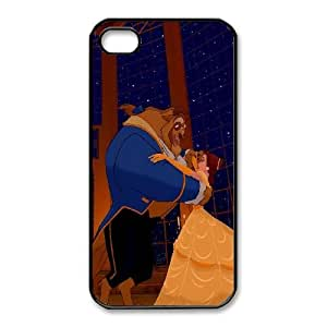 iphone4 4s Phone Case Black Beauty and the Beast The Enchanted Christmas AXF508154