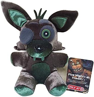 shenlanyu Juguete de Peluche 18cm FNAF Five Nights At Freddy'S 4 Nightmare Foxy Fox Stuffed Plush Toys Muñeca De Juguete Suave Regalos para Niños Niños