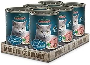 Leonardo Cat Food Rich In Ocean Fish 400g , Pack Of 6 Cans