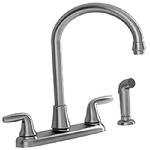 AMERICAN STANDARD BRANDS Jocelyn Kitchen Faucet, 7-3/4'' x 7-1/2'', Stainless Steel by American Standard
