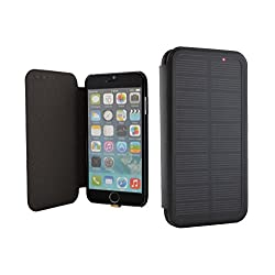 iPhone 6 Solar Charger Battery Case, Phone Charger Case 2800 mAH Solar Power Case / iPhone 6 Solar Battery Charger / iPhone 6 Solar Power Case / iPhone 6 Solar Charging Case / iPhone 6 Solar Charger