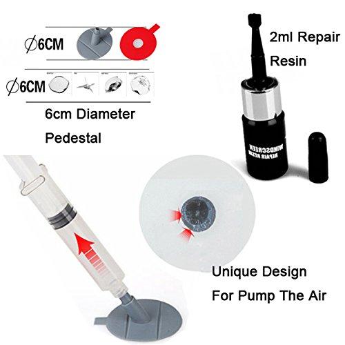 Tools - Skeo DIY Car Wind Shield Glass Repair Kit Tools Windscreedn Repair Set