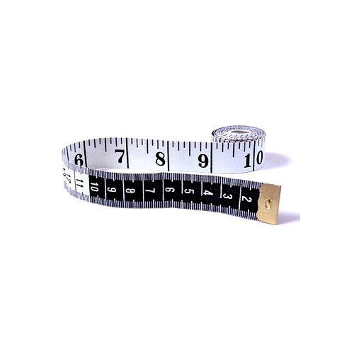 EAI Education English/Metric Tape Measure: White/Black - Set of 10