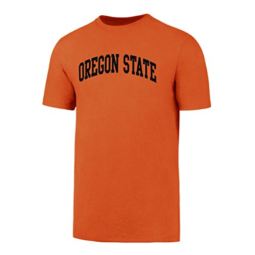 NCAA Oregon State Beavers Men's OTS Rival Tee, Orange, X-Large