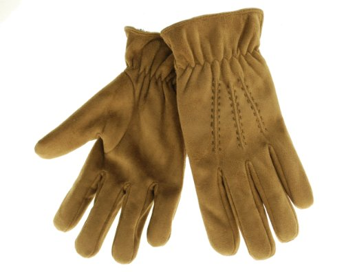 Isotoner ISO Gloves Tan Large