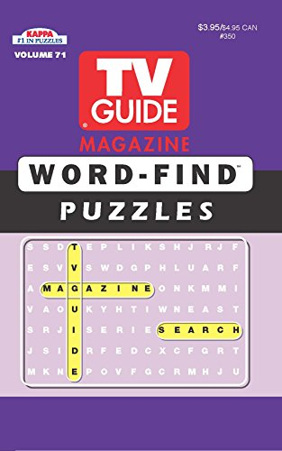 (TV Guide Word Find Puzzle Book-Word Search Volume 71)