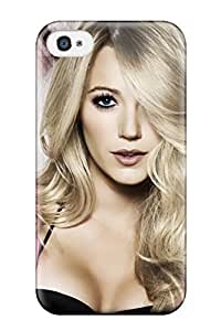 JessicaBMcrae Snap On Hard Case Cover Blake Livelyand Screensavers Protector For Iphone 4/4s