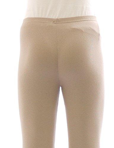 Legging Thermique Leggings Pantalon long en coton Polaire chaud épais doux - rouge, 34