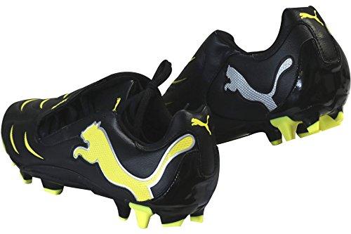 Puma Powercat 3.10 FG Rugby Stiefel Schwarz/Gelb, Herren