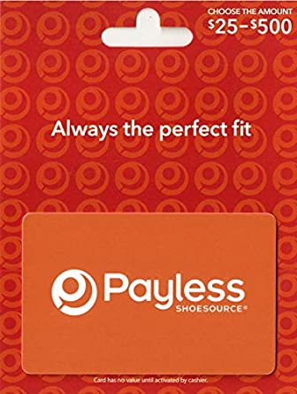 Payless Shoe Source Gift Card