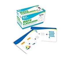 1st Grade Math Flashcards: 240 Flashcards for Building Better Math Skills Based on Sylvan's Proven Techniques for Success