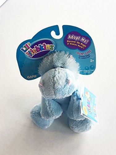 Lil' Webkinz Hippo Plush Toy
